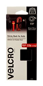 sticky back for auto fastener