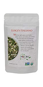 luigi's intiano seasoning the spice hut salt free pouch