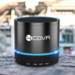 Amazon.com: Wireless Bluetooth Speaker - Forcovr Mini LED