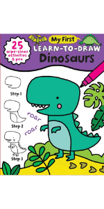 My First Learn-to-Draw: Dinosaurs
