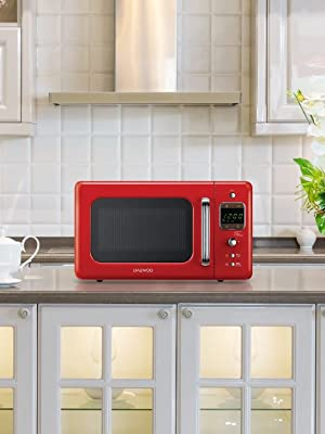 Daewoo KOG-6LBC - Microondas 20 litros digital con grill, 800 W, color crema