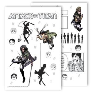 attack on titan manga comics anime box set geek gifts