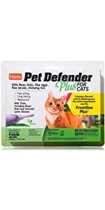 Hartz Pet Defender Plus for Cats