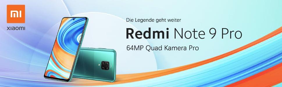 Xiaomi Redmi Note 9 Pro 64GB um 199€ anstatt 238€
