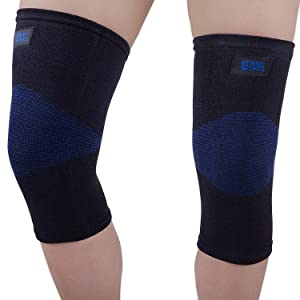 Bamboo Charcoal Knee Compression Sleeve for Knee Pain, Joint Pain, Arthritis Relief,