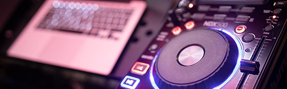 Numark NDX500 - Reproductor de CD/USB y Controlador de Software ...