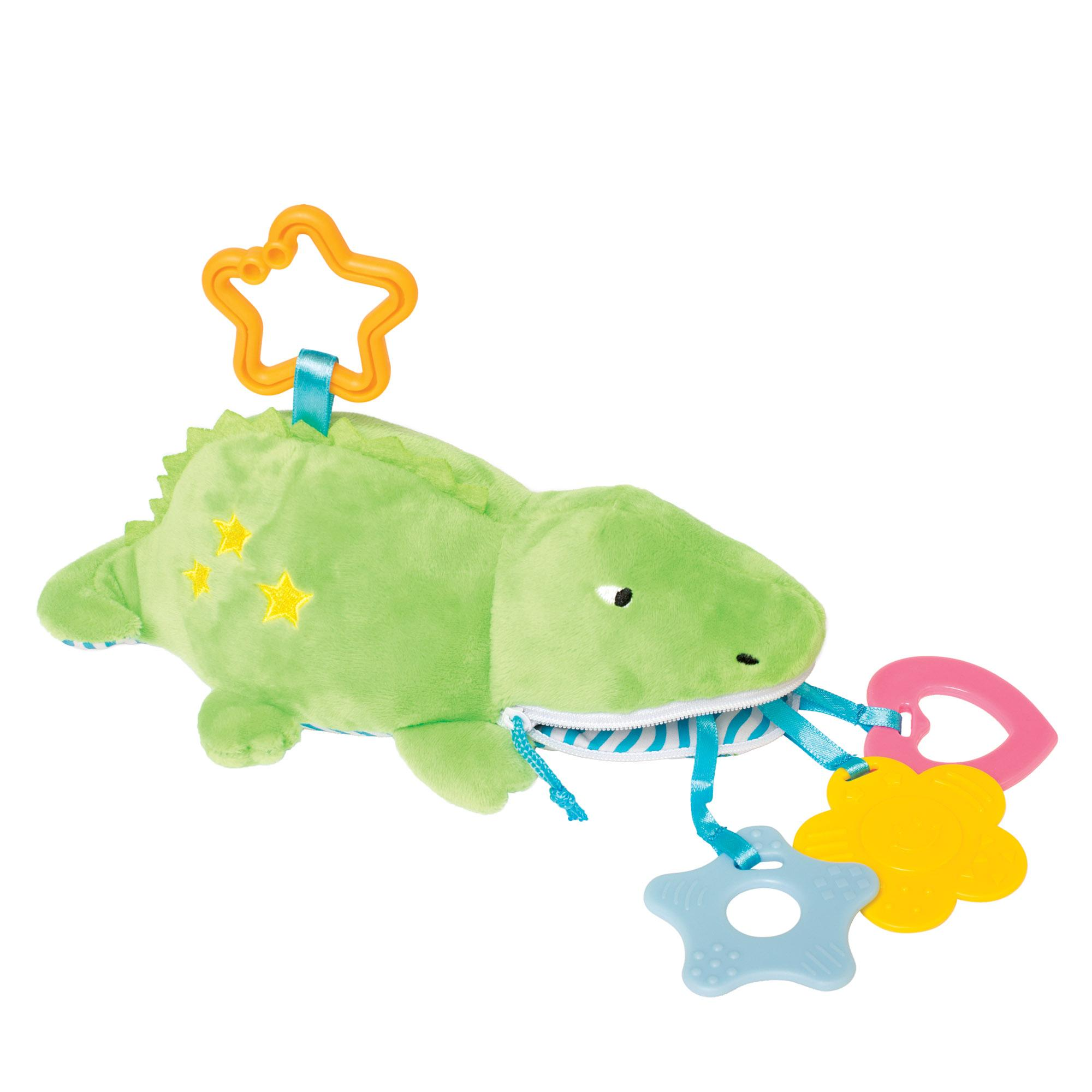 Jouets de dentition Zip & Play de Amazon Manhattan Toy Waldon Whale