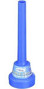 spout funnel with cap