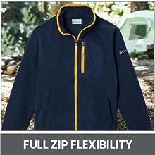 Full Zip Flexibility