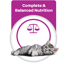 Complete and balanced nutrition