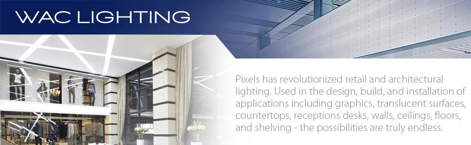 WAC Lighting, LED, Light Sheet, Pixels