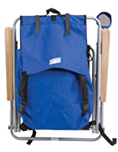 Easy to Carry Backpack Straps  sc 1 st  Amazon.com & Amazon.com : RIO Gear Original Steel Backpack Chair- Royal Blue ...