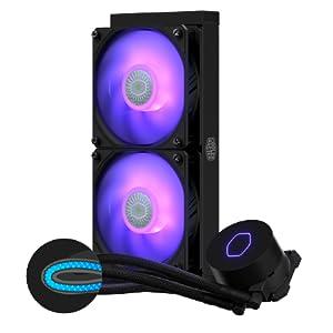 Cooler Master MasterLiquid ML240L White LED V2 Liquid Cooler 8