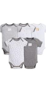Burts Bees Baby Organic Cotton Clothing Romper Jumpsuits PJs Pajamas Footie Zip Up Girls Boys Unisex