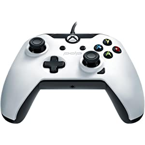 Amazon com: PDP Wired Controller for Xbox One, Xbox One X and Xbox