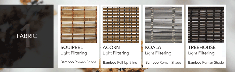Amazon Com Chicology Bamboo Roman Shades Wood Window