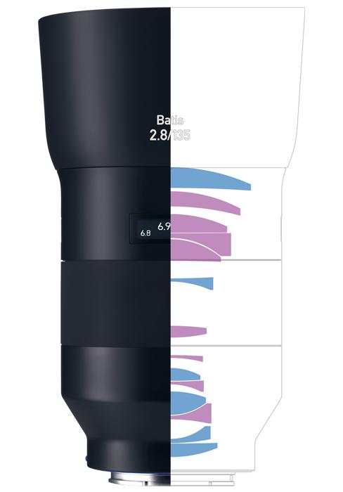 ZEISS Batis 2.8/135 Medium Telephoto Camera Lens for Sony E-mount Mirrorless Cameras