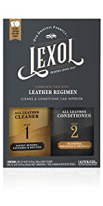 Lexol Leather Cleaner, 1 Liter, Best Cleaning and Conditioner Since 1933 - For Use on Apparel, Furniture, Auto Interiors, Shoes, Bags and More