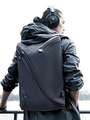 large womens rucksack; big stylish backpacks; black fashion backpack;all bookbags;womens back packs