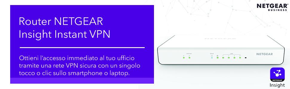 Router Netgear Insight Instant VPN