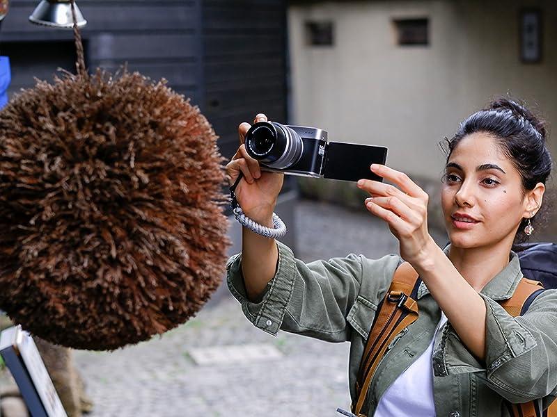 Fujifilm X-A7 enfoque automático Fujifilm 4K Vlogging vlog