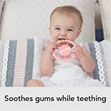 bella tunno, happy teether, teething, easy grip, toy, soother, soothes gums, baby, toddler, care,