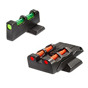 Smith and Wesson, Mamp;P, Hiviz, Hiviz handgun sight, pistol sight, shooting accessories, gun sights