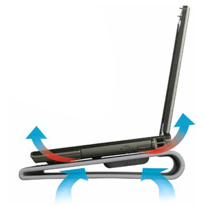Targus Laptop Kühler Cooling Pad Mit 2 Ventilatoren Für Computer Zubehör