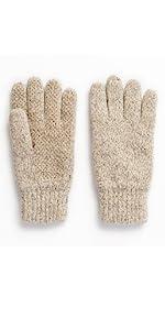 ragg wool oatmeal full finger mens hot shot hunting oatmeal
