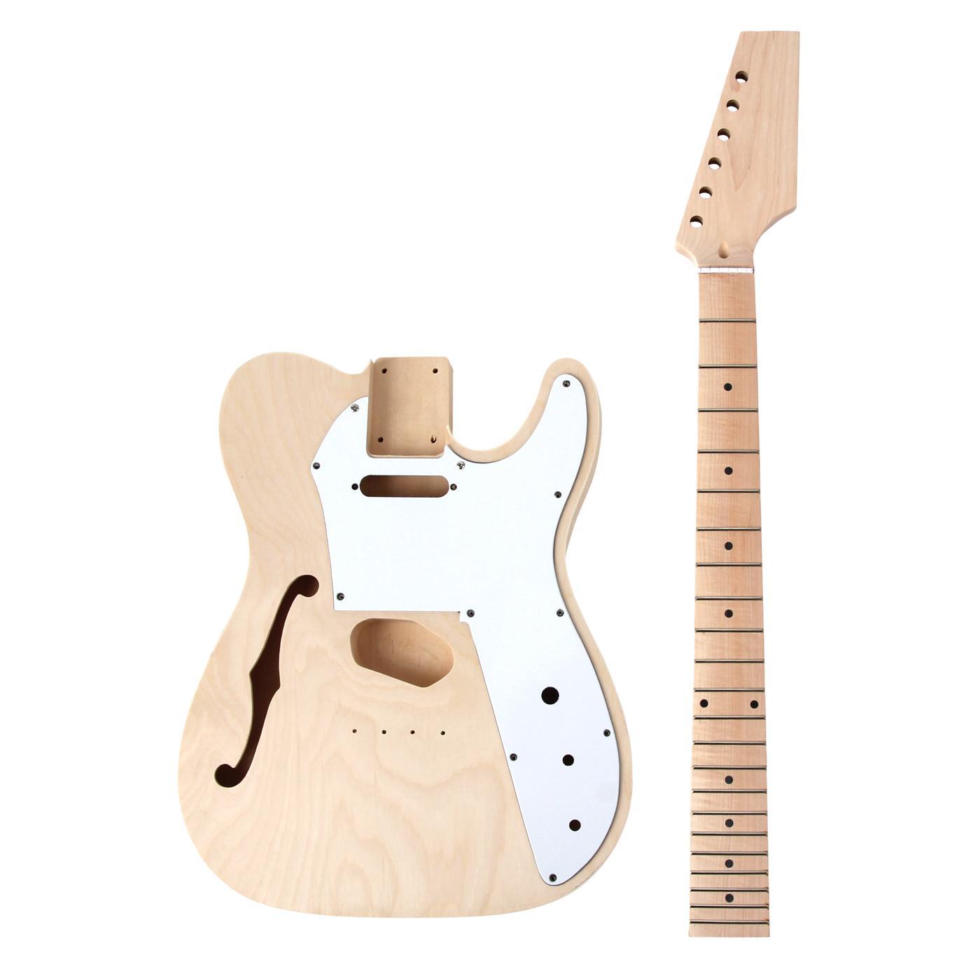 Rocktile E Gitarren Bausatz Hollowbody TL Style