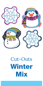 winter mix cut-outs