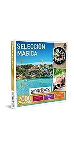 SMARTBOX - Caja Regalo - Selección mágica - Idea de Regalo - 1 Experiencia de gastronomía, Bienestar o Aventura para 1 o 2 Personas: Amazon.es: Deportes y aire libre