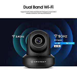 Amcrest UltraHD 2K (3MP/2304TVL) WiFi Video Security IP