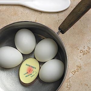 egg rite perfect timer; boiled egg timer; egg timer that changes color when done; color shift timer