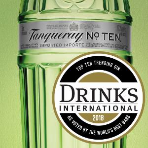 Tanqueray Ten Award Winner