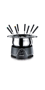 Crepera · Plancha de asar · Plancha de asar · Fondue · Raclette-Grill · Mini freidora 2 en 1