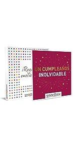 Un cumpleaños inolvidable caja regalo Smartbox
