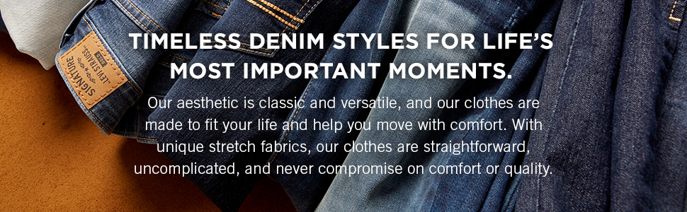 Timeless denim styles for lifes most important moments