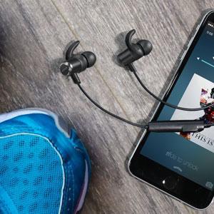 Anker Soundbuds next to a phone