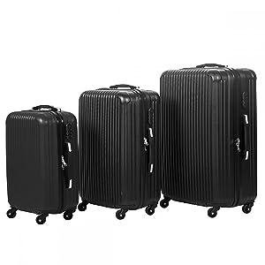 Juego de 3 maletas elegante