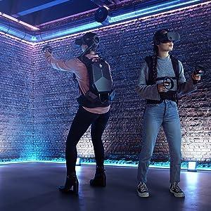 Virtual reality. Real freedom.