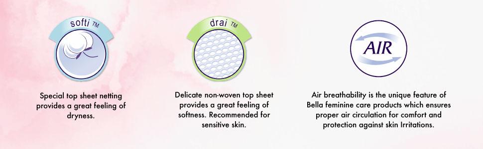 Bella Classic Sanitary Napkin