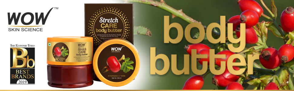 WOW Skin Science Stretch Care Body Butter