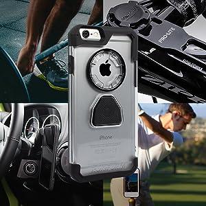 Rokform Crystal Case, Crystal iPhone 6 case, crystal iphone 6s case, magnetic iPhone 6 case