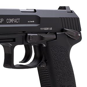 Umarex, UX, Elite Force, EF, Heckler & Koch, HK, airsoft pistol, gas blowback, USP, compact, 6 mm
