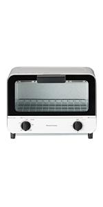 koizumi コイズミ モノクローム オーブントースター トースター 800W KOS0870 KOS-0870