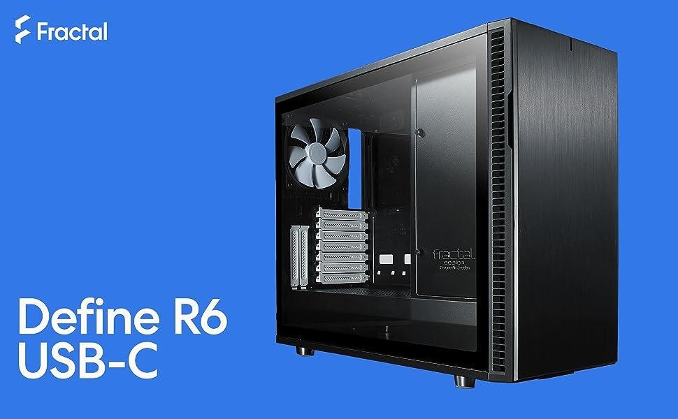 Fractal Design Fd Ca Def R6c Bko Tgl Define R6 Blackout Computer Zubehör