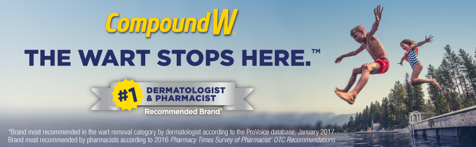 The Wart Stops Here. #1 Dermatologist & Pharmacist Recommended Brand*