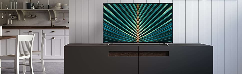 SHARP 4K TV SMART fondo