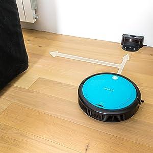 Robot aspirador Conga Slim de Cecotec. Barre y aspira. Programable ...